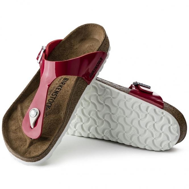 ec76034f4575 Birkenstock GIZEH 1005297 Ladies Toe Post Sandals Tango Red