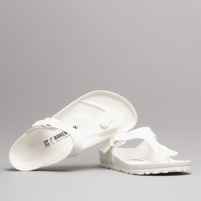 GIZEH 128221 (Reg) Ladies EVA Toe Post Sandals White