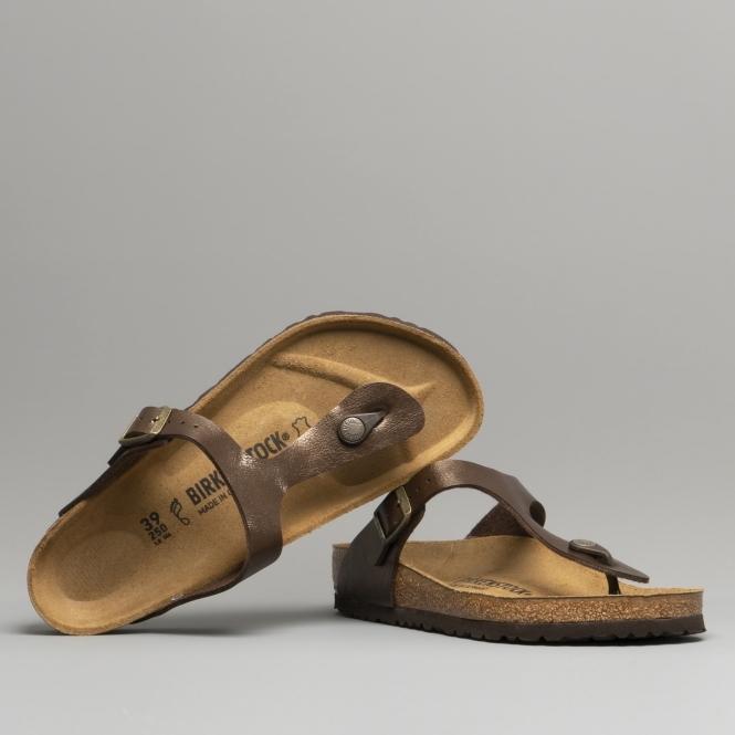 f79d06b7c09e Birkenstock GIZEH 845221 Ladies Toe Post Sandals Toffee