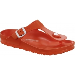 GIZEH Ladies EVA Toe Post Sandals Scuba Coral