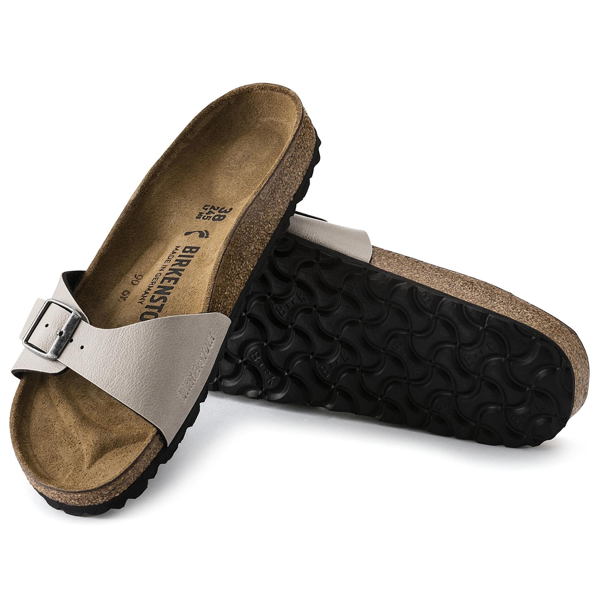 643bc736656f Birkenstock MADRID 1003176 Ladies One Strap Sandals Stone