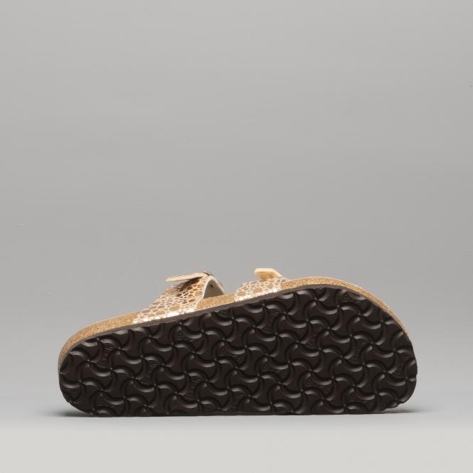 94efed16afd0 Birkenstock MAYARI 1006733 Cross Strap Sandals Metallic Stones ...