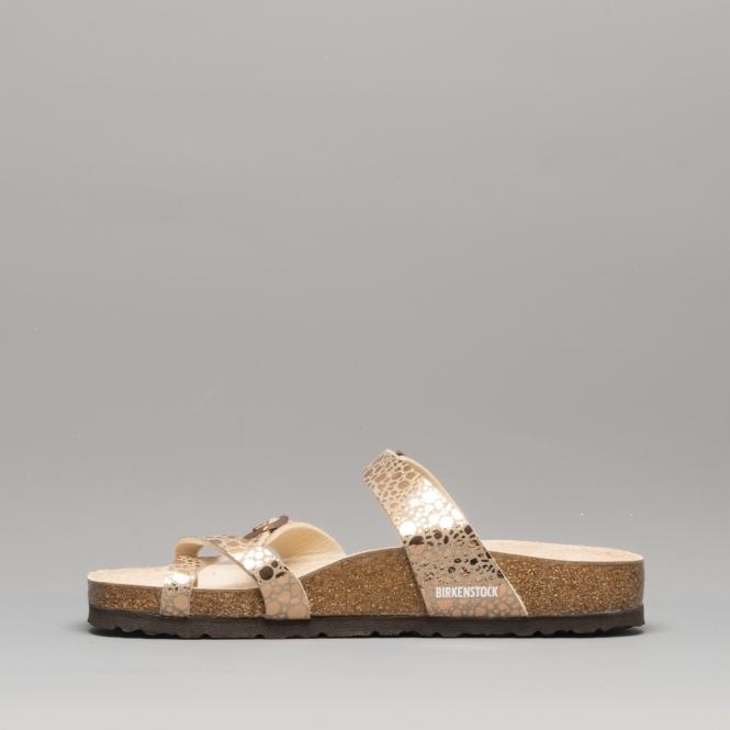 314d83b48 Birkenstock MAYARI 1006733 Cross Strap Sandals Metallic Stones ...