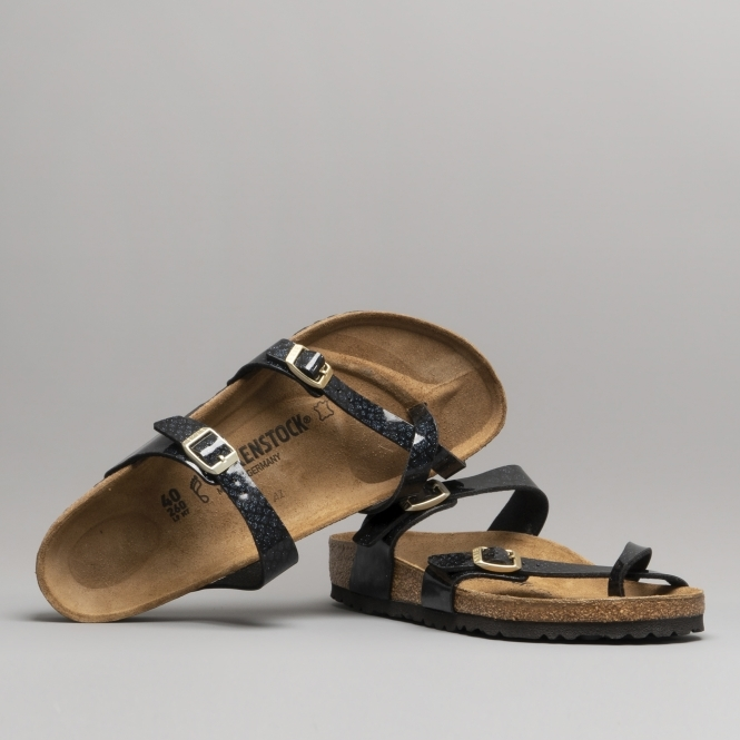 Magic Mayari Sandals Flor 1009103regLadies Cross Birko Strap Snake Black 5RjA4Lq3