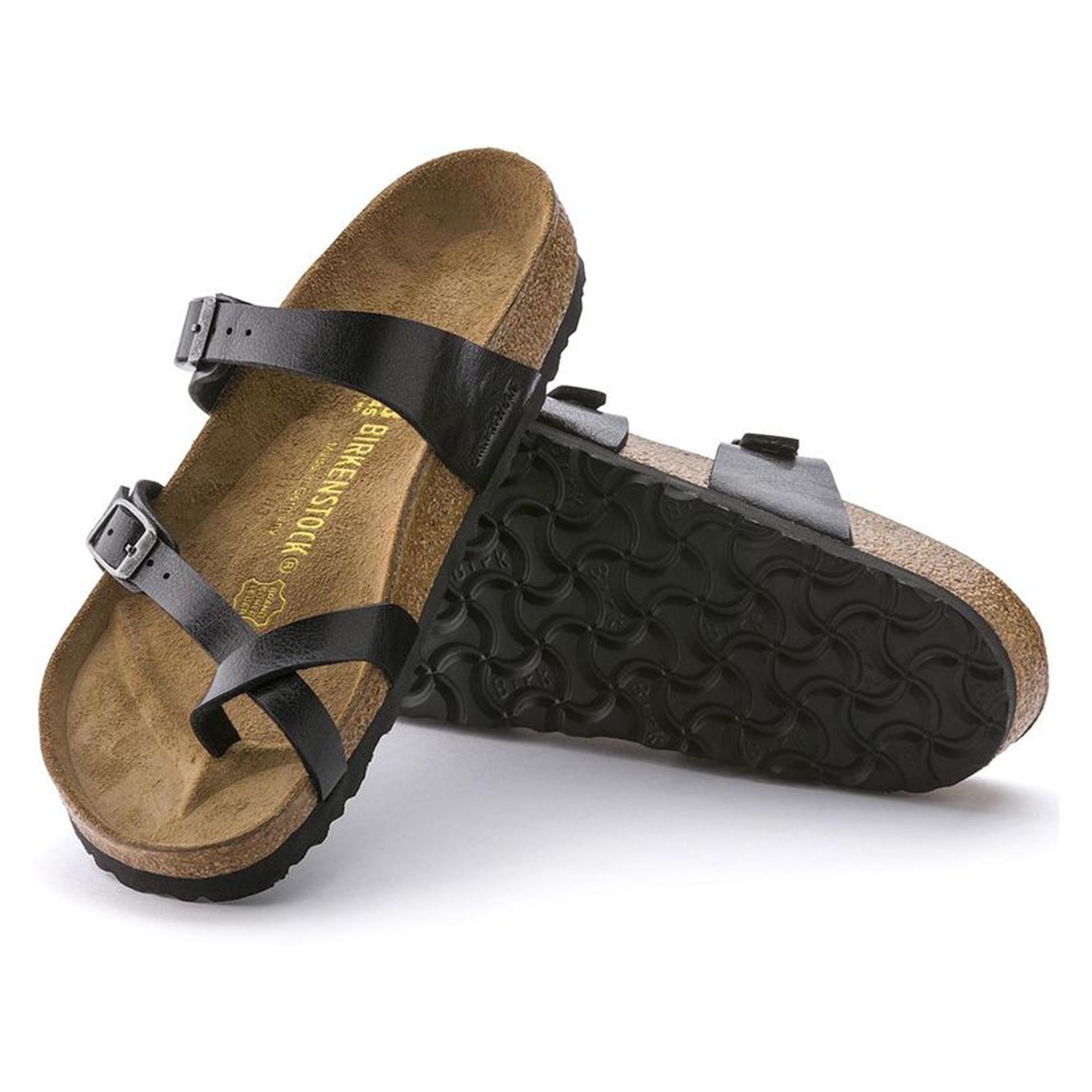 49e506f24fa Birkenstock MAYARI 171391 Ladies Cross Strap Sandals Licorice