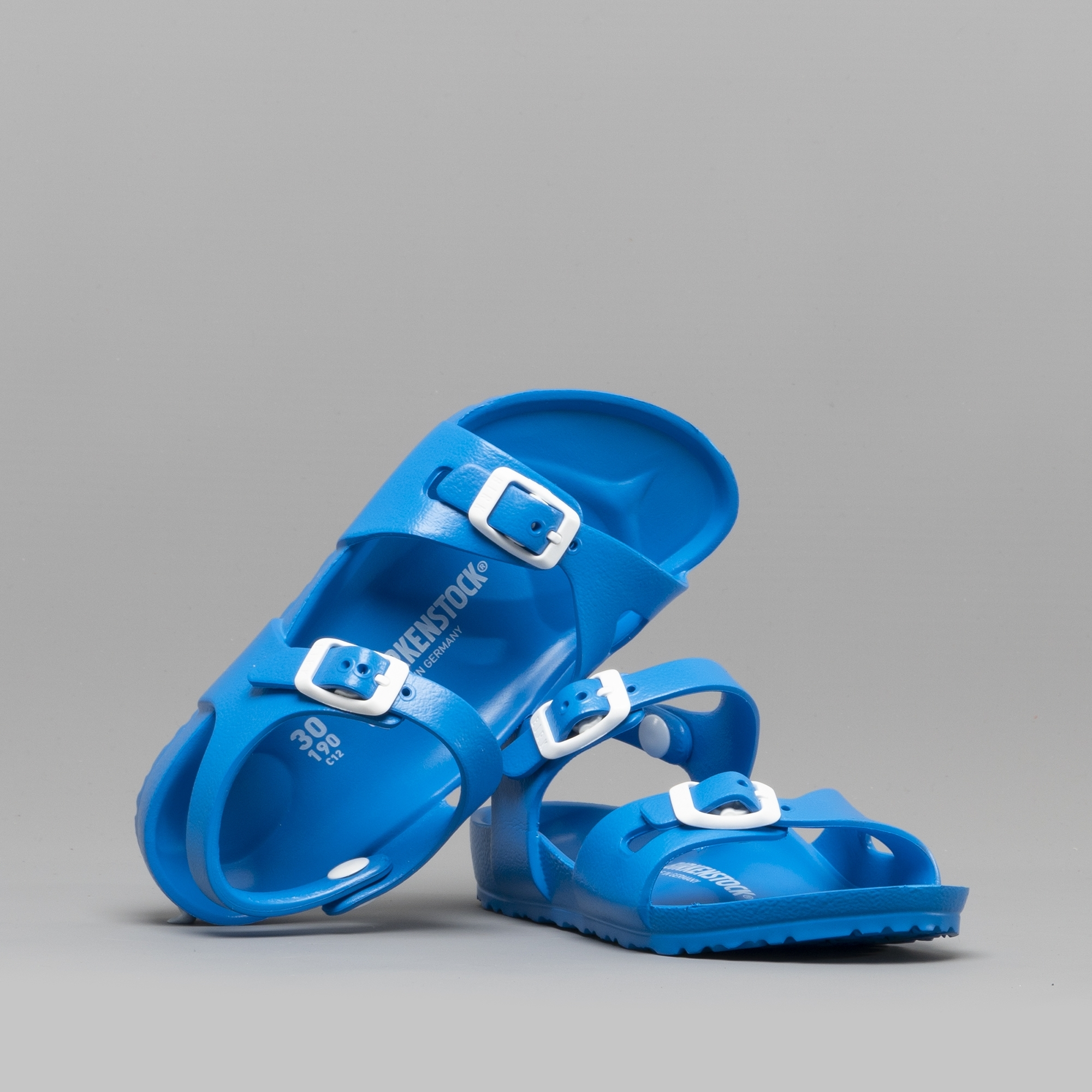 94d5cf5485ff Birkenstock RIO 1003535 Kids Two Strap Sandals Scuba Blue