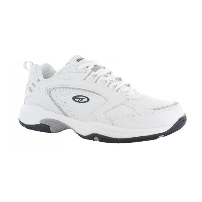 Hi-Tec BLAST LITE Mens Lace Up Trainers White