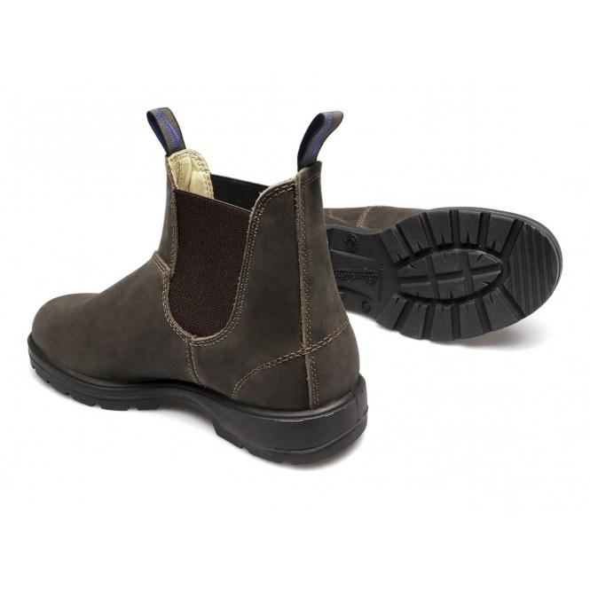 ec71bd7041b 584 Mens Premium Nubuck Waterproof Chelsea Boots Rustic Brown