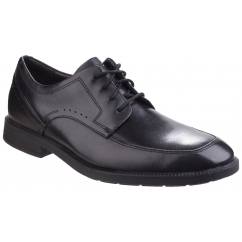 BUSINESS APRON TOE Mens Leather Lace Up Shoes Black
