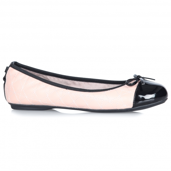 a88eef3c864 Butterfly Twists OLIVIA Ladies Ballerina Shoes Pink Black
