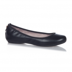 SOPHIA Ladies Ballerina Flats Black