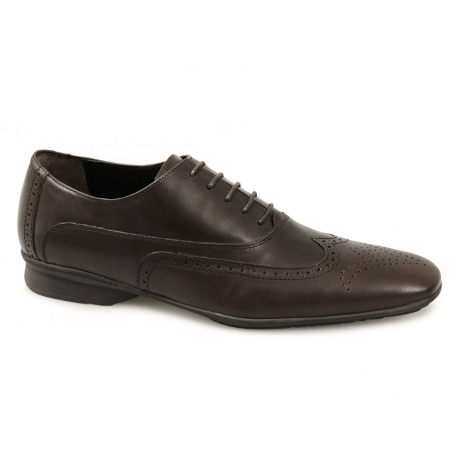 j bradford mens leather formal wedding brogue shoes brown