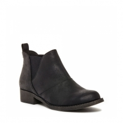 CASTELO Ladies Chelsea Boots Black