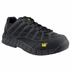 STREAMLINE Mens Composite Metal Free Safety Trainers Black