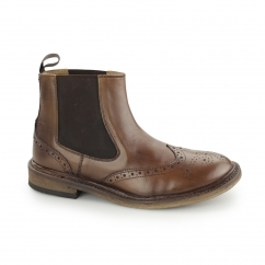Catesby Shoemakers BJORN Mens Welted Chelsea Boots Brown