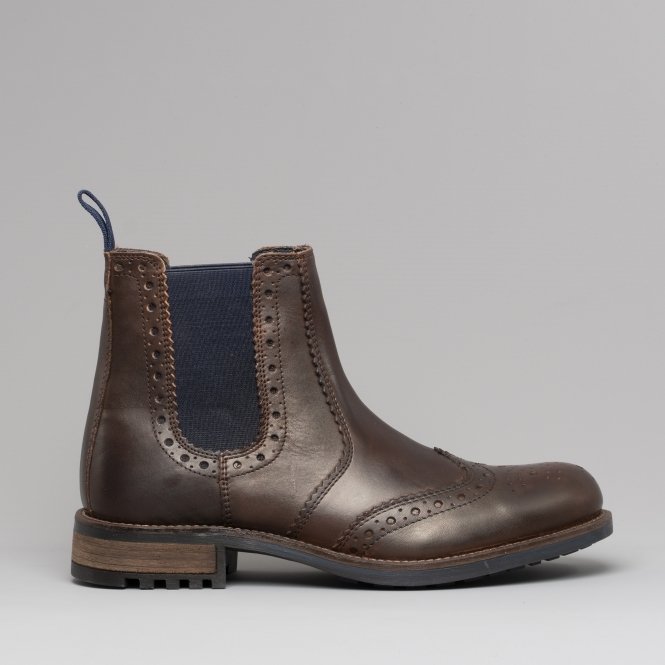 19a8a9db73d68 Catesby Shoemakers RAGNAR Mens Chelsea Boots Brown | Free UK Delivery From  Shuperb
