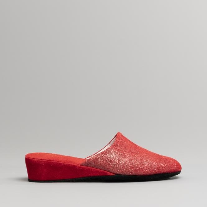 ladies leather mule slippers uk