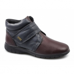 CHALFORD Ladies Waterproof Leather Boots Navy/Oxblood