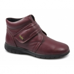 CHALFORD Ladies Waterproof Leather Boots Red
