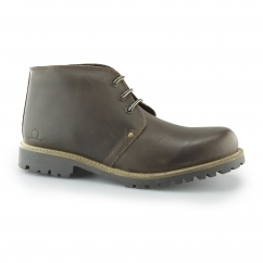 COLORADO II Men's Leather Ankle Boots Deep Brown
