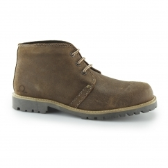 COLORADO II Men's Leather Lace Up Ankle Boots Tan