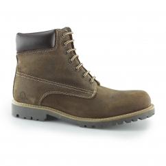 MAGUIRE II Mens Leather Lace-Up Walking Boots Tan
