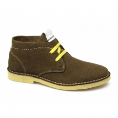 CHURLISH Ladies Suede Desert Boots Tobacco