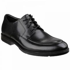 CITY SMART ALGONQUIN Mens Leather Lace Shoes Black