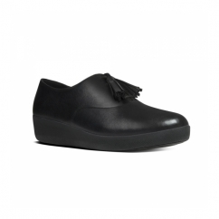 CLASSIC TASSEL SUPEROXFORD™ Ladies Leather Shoes Matte Black