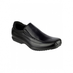 CLIPPER Boys School Shoes Black