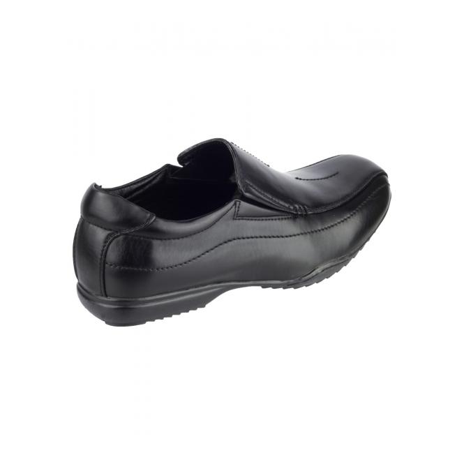 Mirak Mirak Clipper Boys School Shoes Black Size 12 mQMeGq