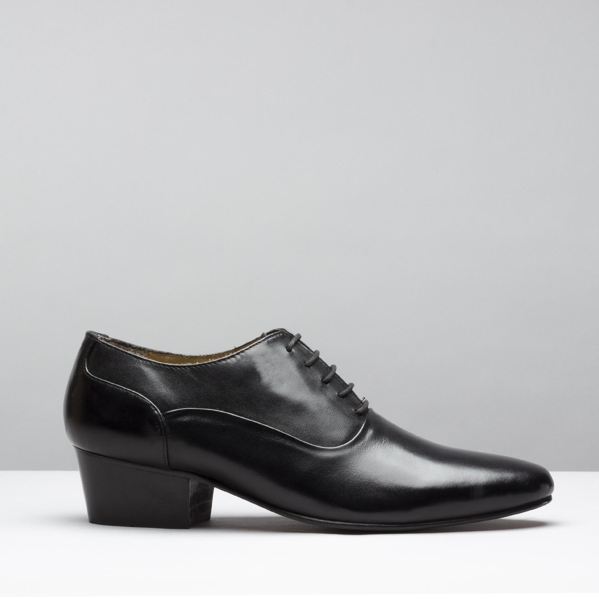 mens cuban heel dress shoes