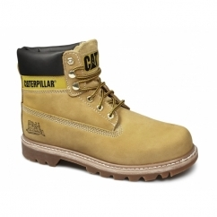 COLORADO Mens Nubuck Leather Lace-Up Boots Honey