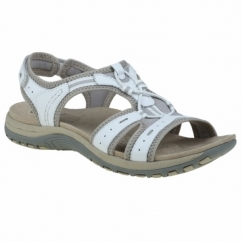 COLUMBIA Ladies Leather Open Toe Sandals White