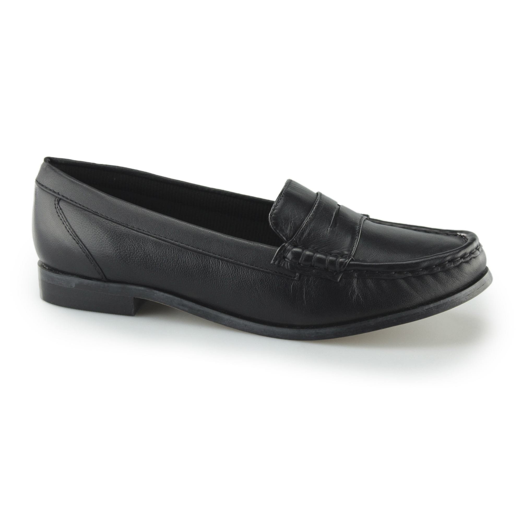 dbafc0a2062 Comfort Plus MICHAELA Ladies Leather Wide Fit Shoes In Black
