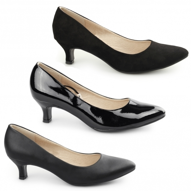 Shoe Zone Wide Fitting Ladies Shoes