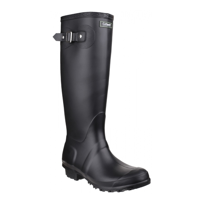Cotswold SANDRINGHAM Ladies Tall Wellington Boots Black