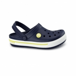CROCBAND KIDS II.5 Unisex Clogs Navy/Citrus