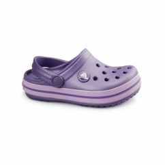 CROCBAND KIDS Unisex Croslite Clogs Blue Violet/Iris