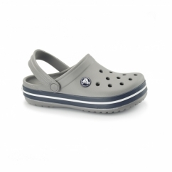 CROCBAND KIDS Unisex Croslite Clogs Smoke/Navy