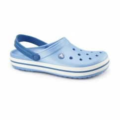 CROCBAND Unisex Croslite Clogs Bluebell/White