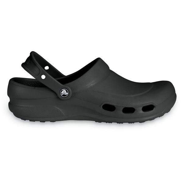 9aef30167ef184 Crocs 10074 SPECIALIST VENT Unisex Work Clogs Black