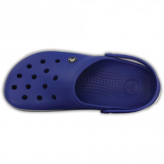 10302705f Crocs CROCBAND Unisex Croslite Clogs Cerulean Blue Oyster