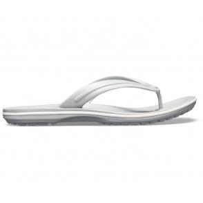 57db59462b9ed3 Crocs 11033 CROCBAND FLIP Flip Flops White