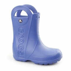 Crocs HANDLE IT RAIN BOOT Kids Wellington Boots Sea Blue