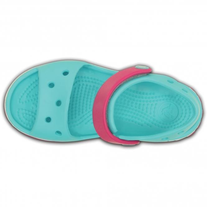 7393b2c24ca49b Crocs 12856 CROCBAND SANDAL Kids Sandals Pool Candy Pink