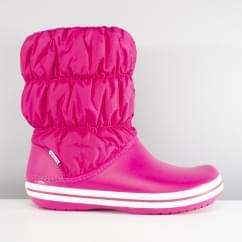 Crocs WINTER PUFF BOOT Womens Snow Boots Candy Pink
