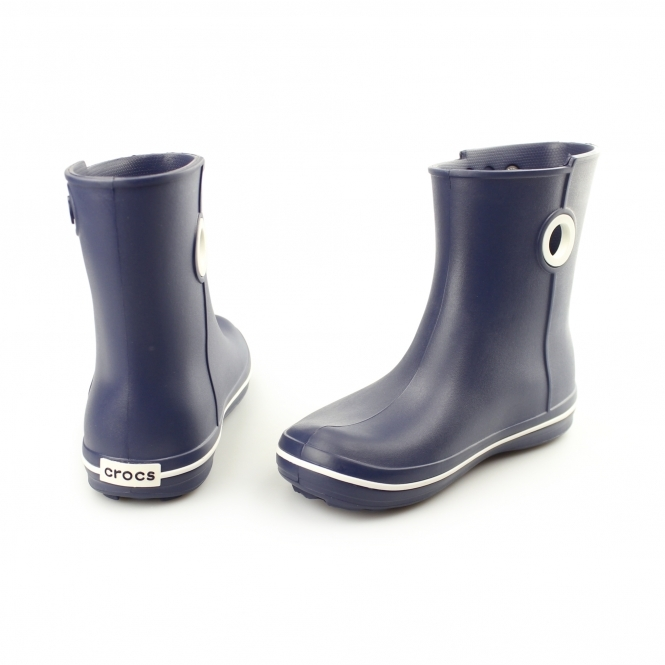b609cde8c15c4d Crocs 15769 JAUNT SHORTY Ladies Wellington Boots Navy