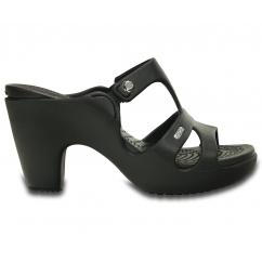 db090817b5c1d1 Crocs 201301 CYPRUS V HEEL Black