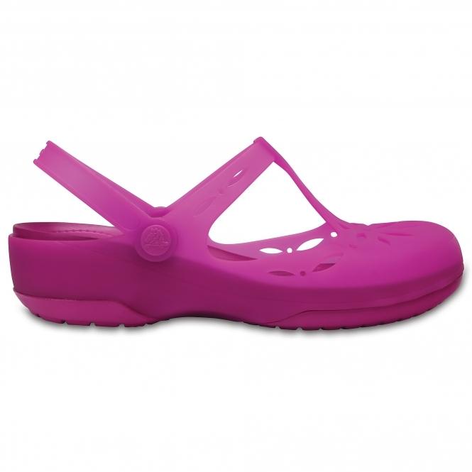 bfb7dd1f4 Crocs CARLIE CUT OUT Ladies TPU Clog Vibrant Violet